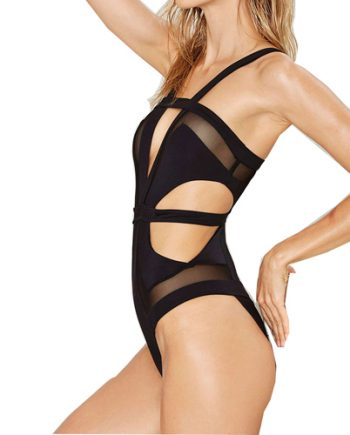 1 piece strap swimsuit