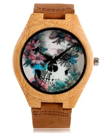 unisex bamboo watch